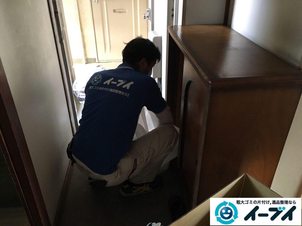 2017年4月27日大阪府交野市で遺品整理に伴い生活用品や家具処分をしました。写真9