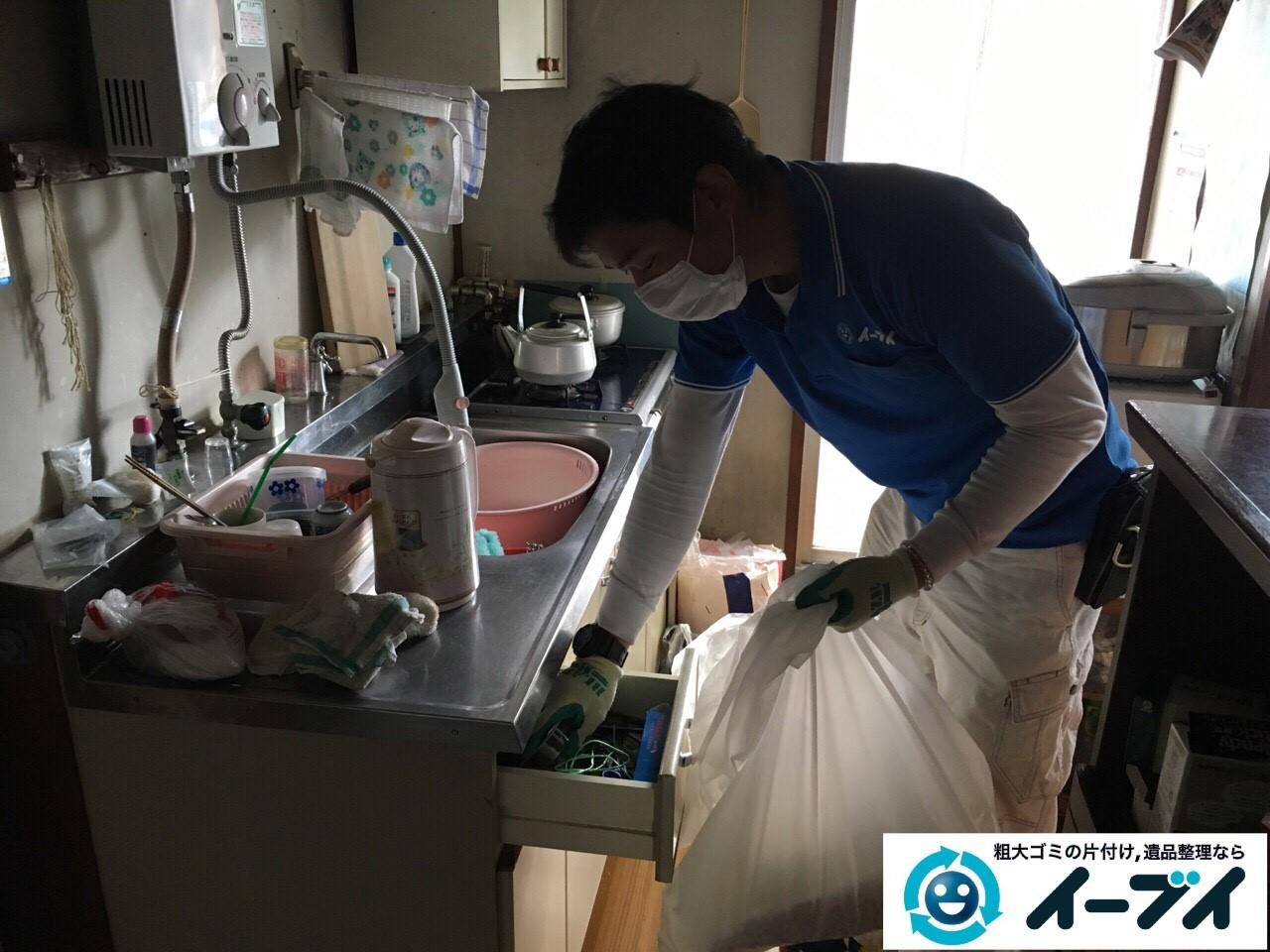 2017年4月27日大阪府交野市で遺品整理に伴い生活用品や家具処分をしました。写真7