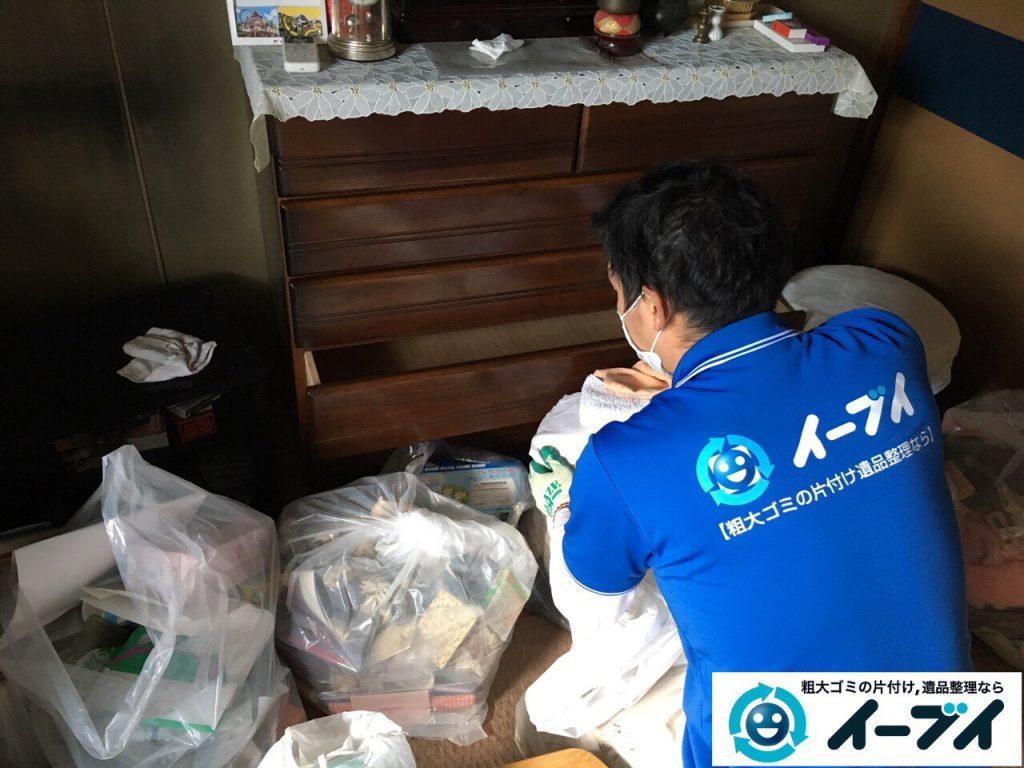 2017年4月24日大阪府大阪市淀川区で遺品整理に伴い家財道具の片付け処分をしました。写真12