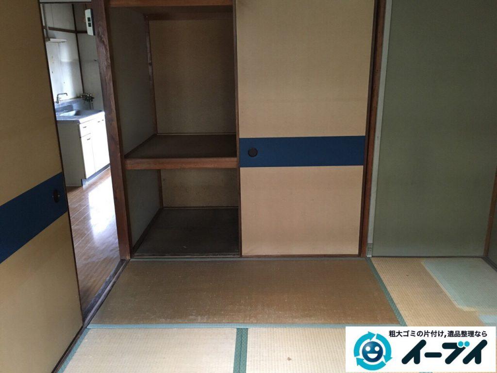 2017年4月24日大阪府大阪市淀川区で遺品整理に伴い家財道具の片付け処分をしました。写真9