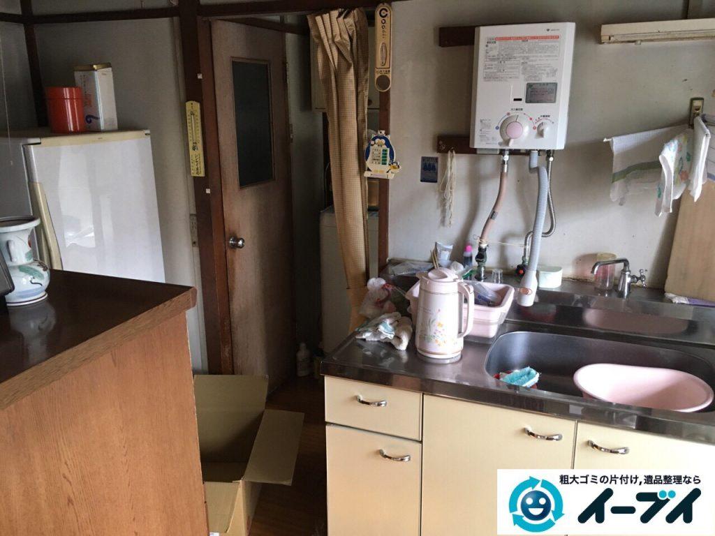 2017年4月27日大阪府交野市で遺品整理に伴い生活用品や家具処分をしました。写真5
