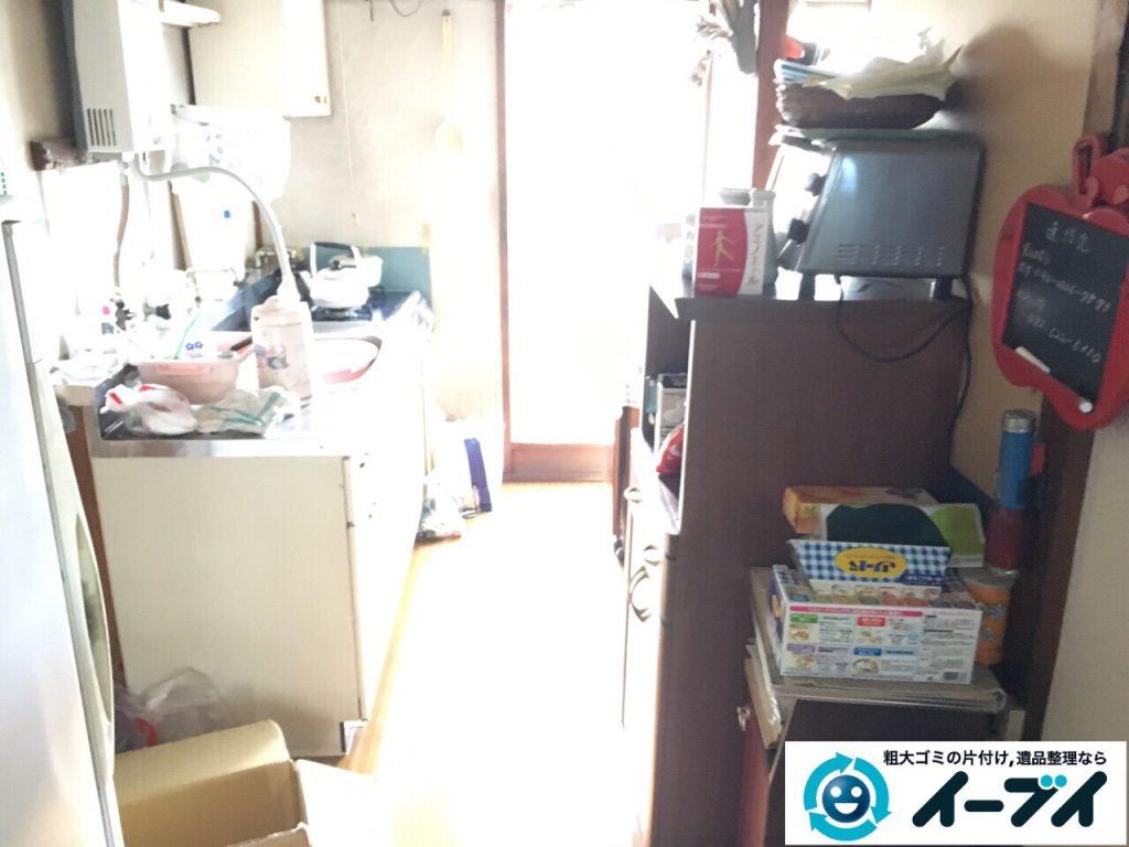 2017年4月27日大阪府交野市で遺品整理に伴い生活用品や家具処分をしました。写真3