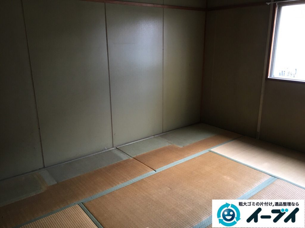 2017年4月24日大阪府大阪市淀川区で遺品整理に伴い家財道具の片付け処分をしました。写真7