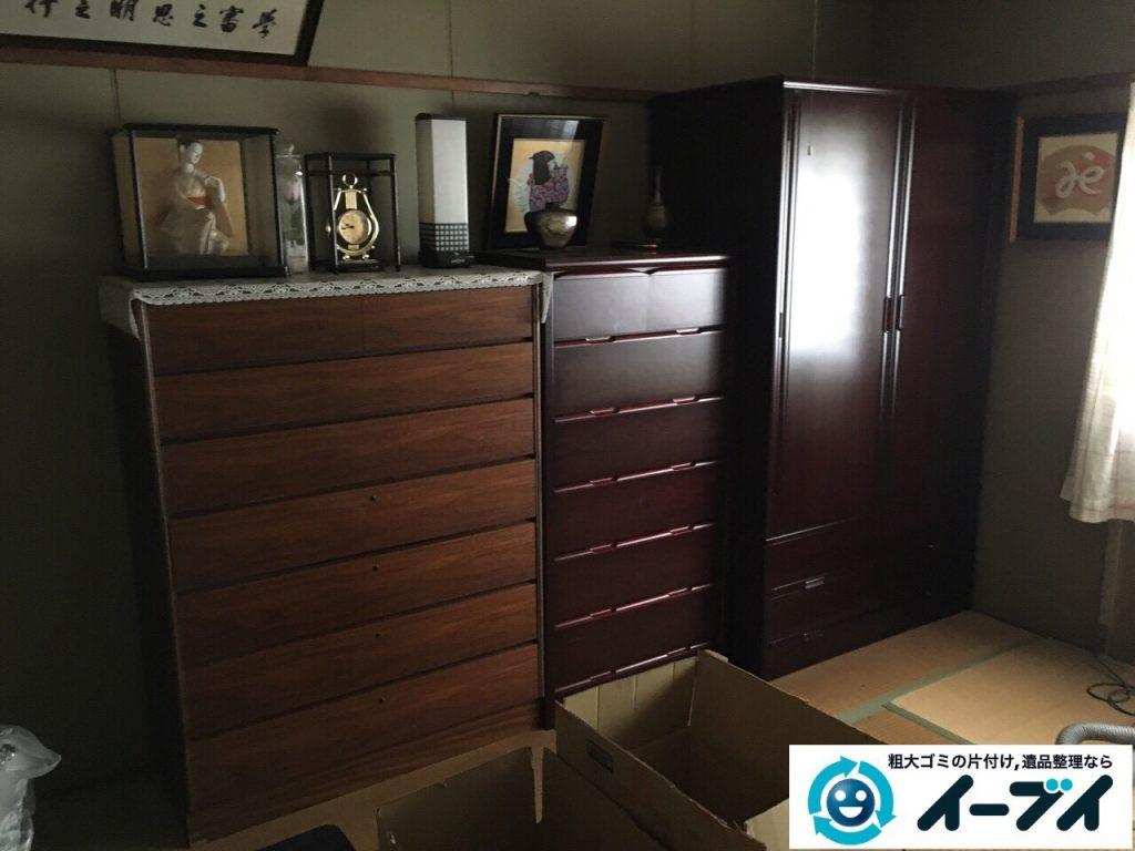 2017年4月24日大阪府大阪市淀川区で遺品整理に伴い家財道具の片付け処分をしました。写真6