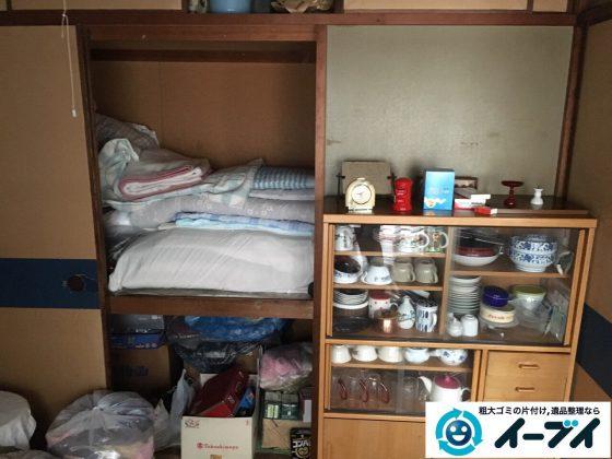2017年4月24日大阪府大阪市淀川区で遺品整理に伴い家財道具の片付け処分をしました。写真2