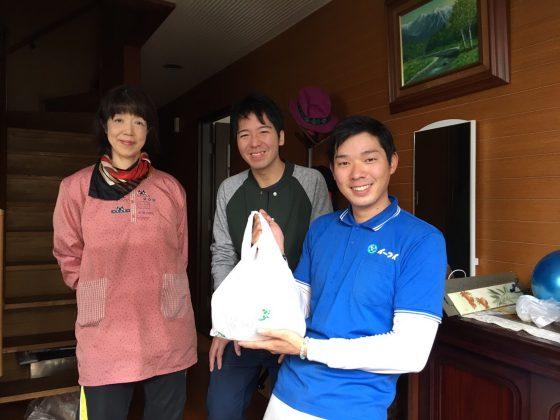 2017年5月2日大阪府八尾市で引っ越しにあたって粗大ゴミの処分でイーブイ利用して頂きました。
