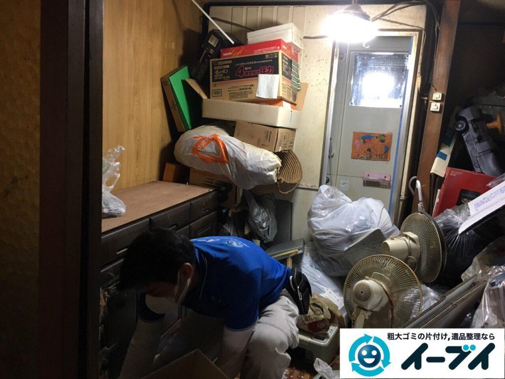 2017年4月19日大阪府大阪市天王寺区で汚部屋状態のゴミ屋敷の片付け処分をしました。写真8