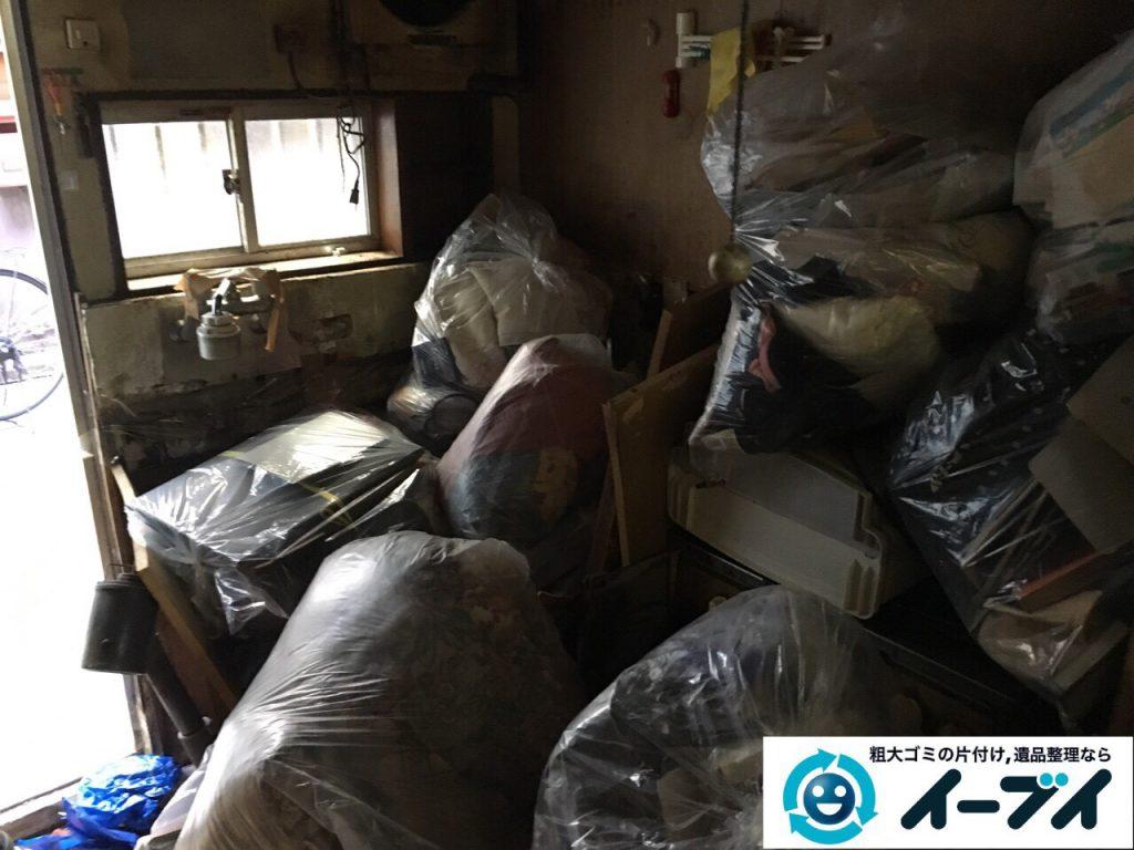 2017年4月19日大阪府大阪市天王寺区で汚部屋状態のゴミ屋敷の片付け処分をしました。写真6