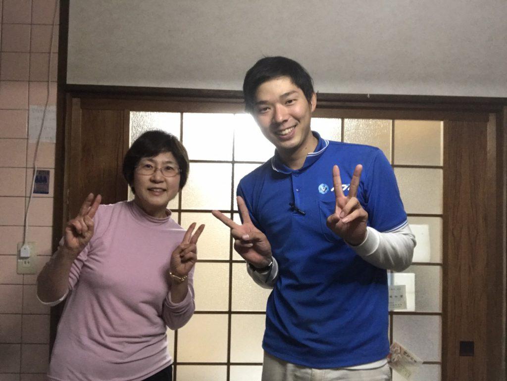 2017年4月26日大阪府八尾市で家財道具の処分や不要品の処分でイーブイを利用して頂きました。