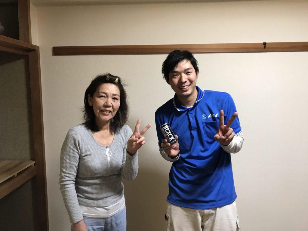 2017年4月23日大阪府平野区で不要な家財道具の処分でイーブイを利用して頂きました。