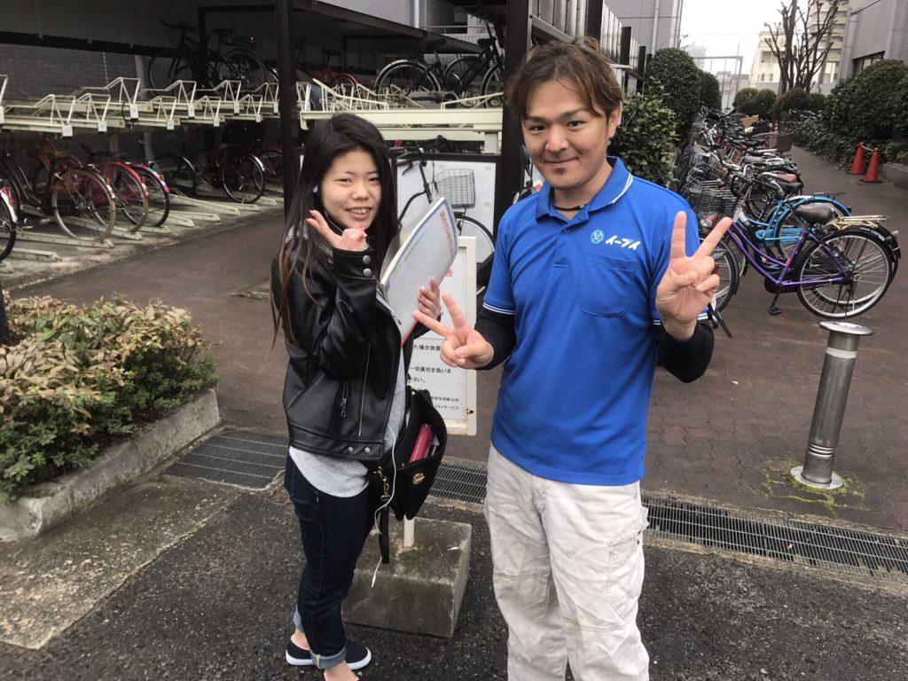 2017年4月20日大阪府守口市で洗濯機や引越しゴミ等の粗大ゴミの不用品回収をしました。