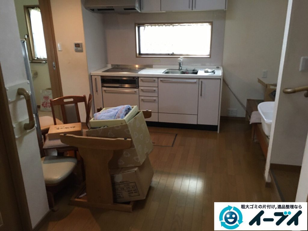 2017年5月6日大阪府大阪市住之江区で遺品整理に伴い生活用品や家具処分をしました。写真6