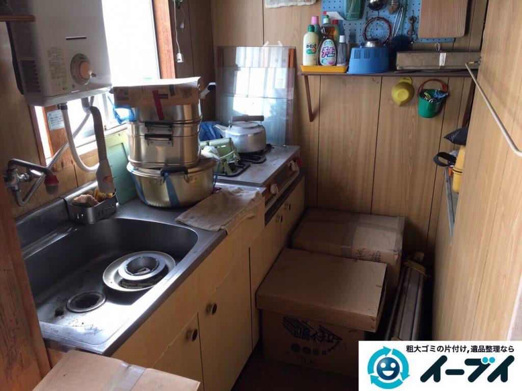 2017年5月3日大阪府大阪市西区で遺品整理に伴い生活用品や粗大ゴミの処分をしました。写真5