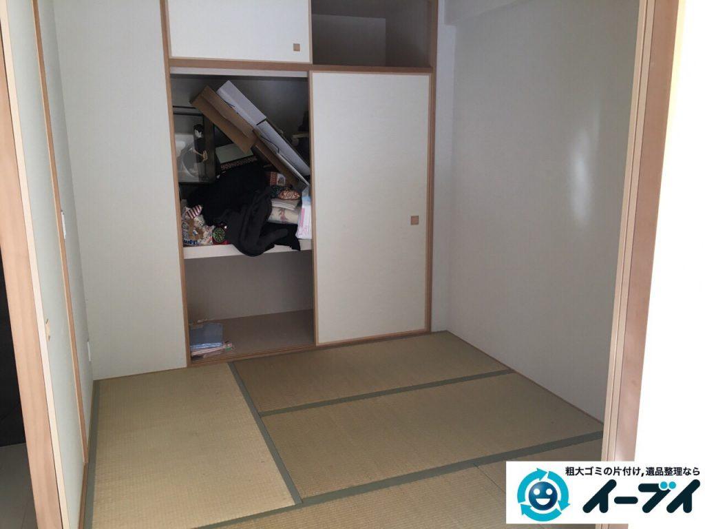2017年5月7日大阪府大阪市住吉区で遺品整理に伴う家具処分や遺品処分をしました。写真3