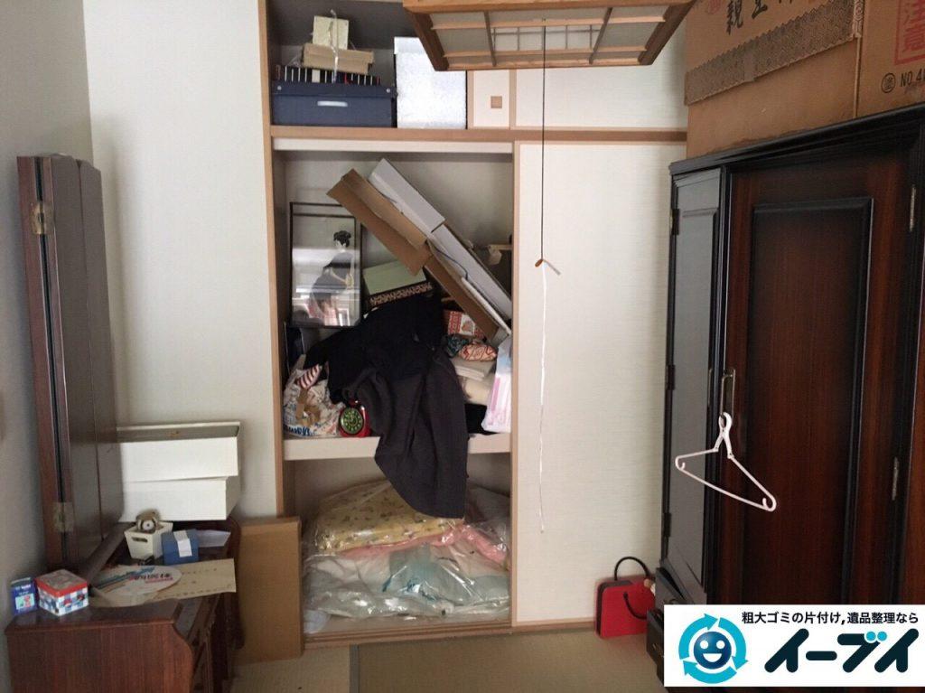 2017年5月7日大阪府大阪市住吉区で遺品整理に伴う家具処分や遺品処分をしました。写真2