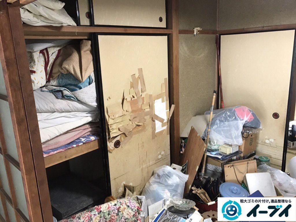 2017年5月10日大阪府大阪市港区で遺品整理に伴い生活用品や遺品処分をしました。写真5