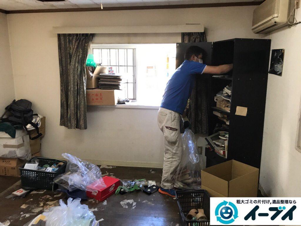 2017年5月30日大阪府吹田市で生活ゴミが溢れているゴミ屋敷の片付けをしました。写真8