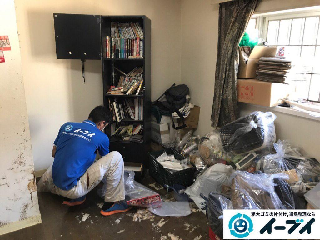 2017年5月30日大阪府吹田市で生活ゴミが溢れているゴミ屋敷の片付けをしました。写真7