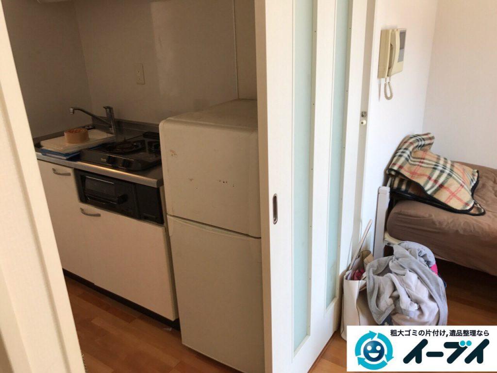 2017年5月13日大阪府吹田市でソファーやベッドなど家具や粗大ゴミの不用品回収をしました。写真3