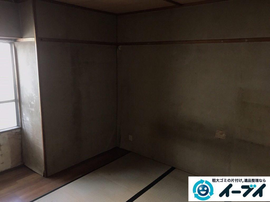 2017年5月24日大阪府岬町で遺品整理に伴い家具や生活用品の処分をしました。写真5