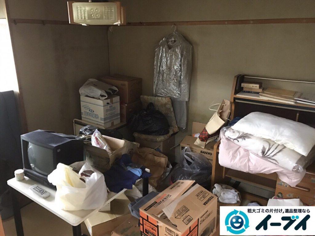 2017年5月24日大阪府岬町で遺品整理に伴い家具や生活用品の処分をしました。写真4