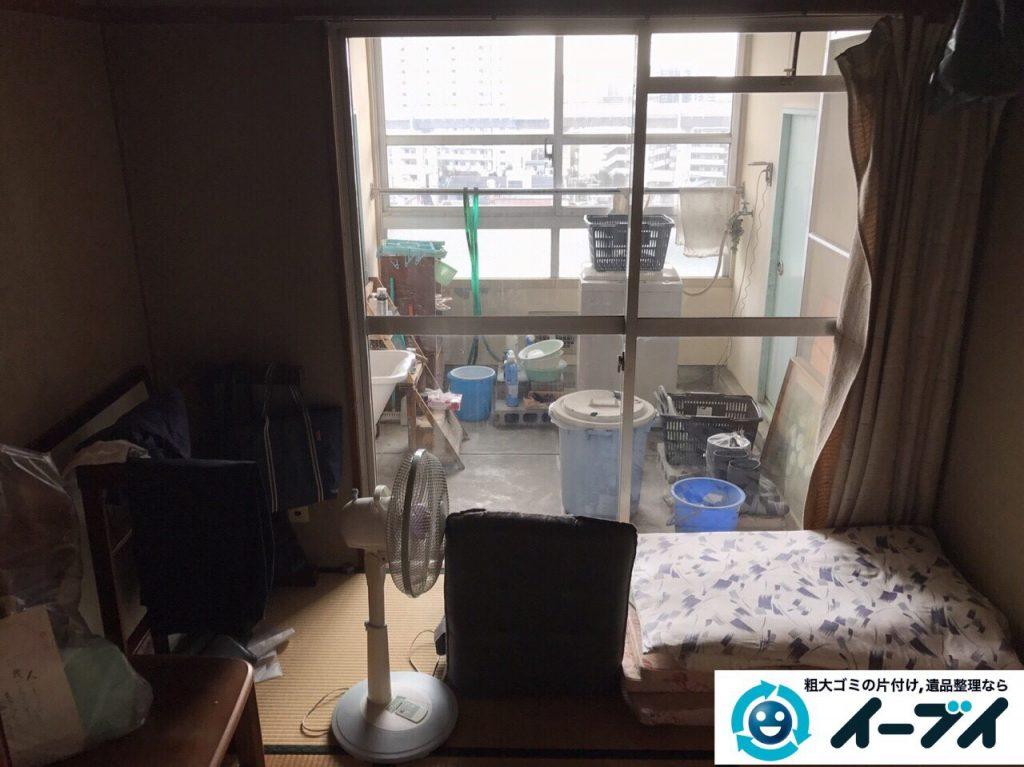 2017年5月24日大阪府岬町で遺品整理に伴い家具や生活用品の処分をしました。写真2