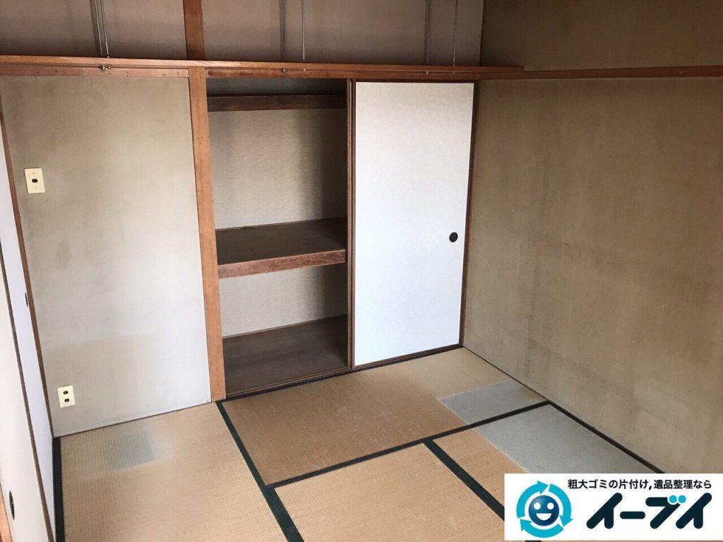 2017年5月15日大阪府豊中市で遺品整理のご依頼を受け家具や粗大ゴミの処分をしました。写真1