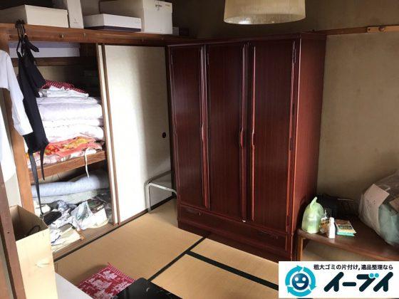 2017年5月15日大阪府豊中市で遺品整理のご依頼を受け家具や粗大ゴミの処分をしました。写真6
