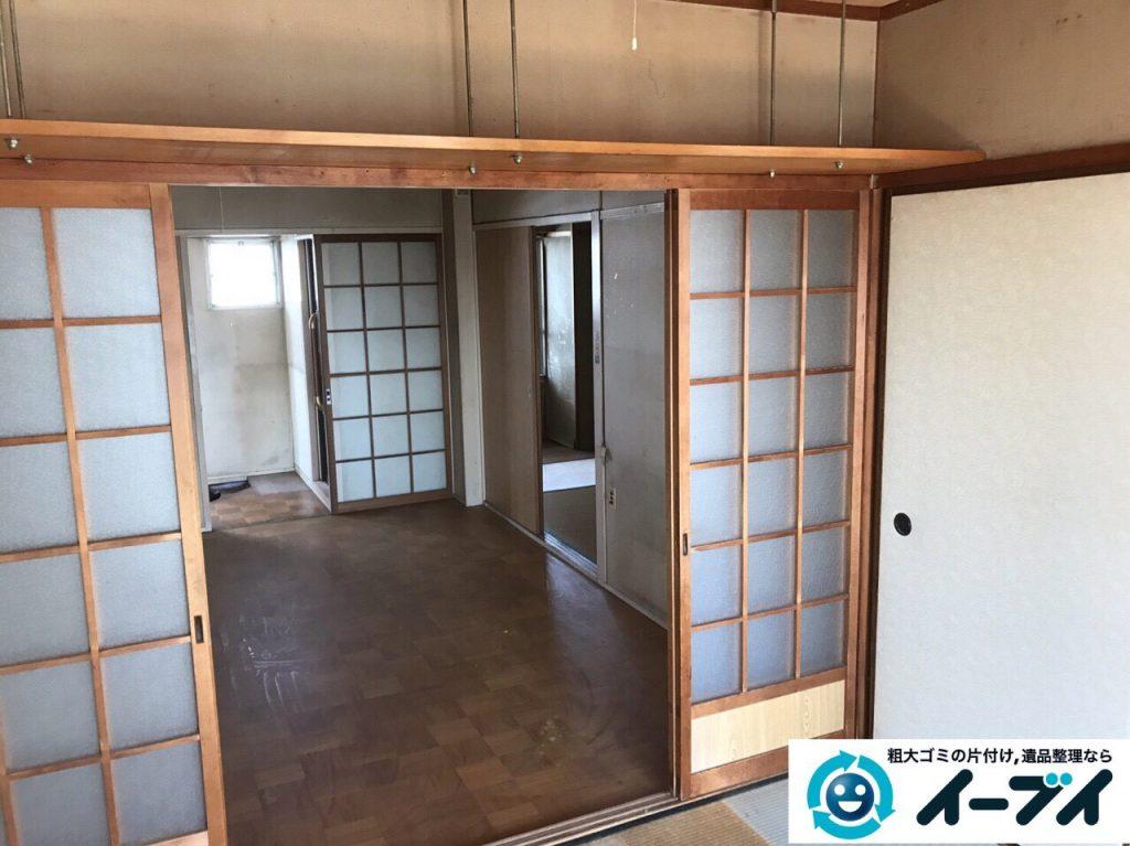 2017年5月15日大阪府豊中市で遺品整理のご依頼を受け家具や粗大ゴミの処分をしました。写真5