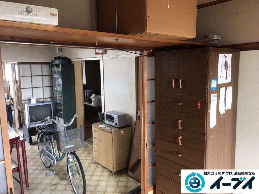 2017年5月15日大阪府豊中市で遺品整理のご依頼を受け家具や粗大ゴミの処分をしました。写真4