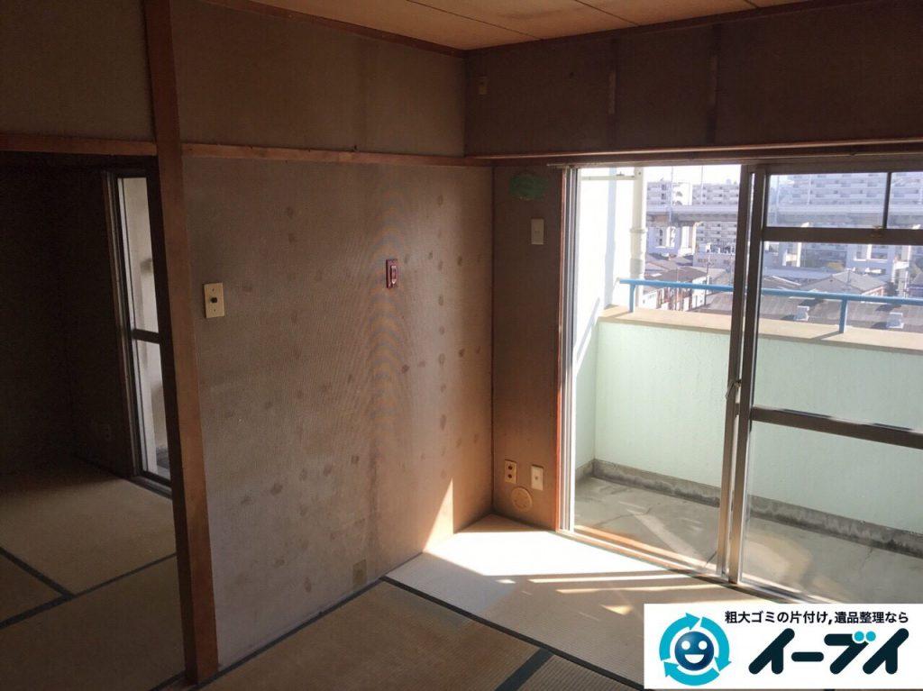 2017年5月15日大阪府豊中市で遺品整理のご依頼を受け家具や粗大ゴミの処分をしました。写真3