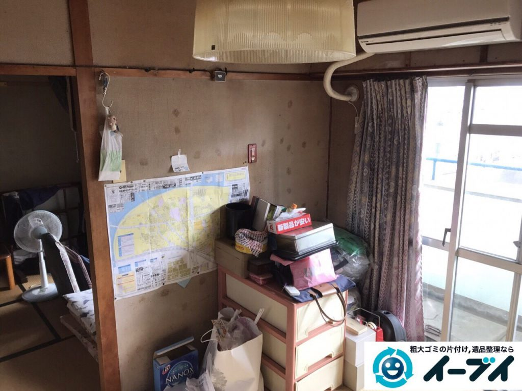 2017年5月15日大阪府豊中市で遺品整理のご依頼を受け家具や粗大ゴミの処分をしました。写真2
