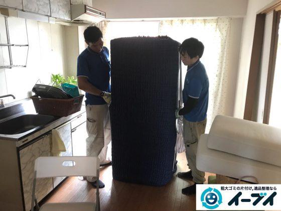 2017年5月21日大阪府大阪市住之江区で引越しに伴う生活用品や粗大ゴミの不用品回収をしました。写真3