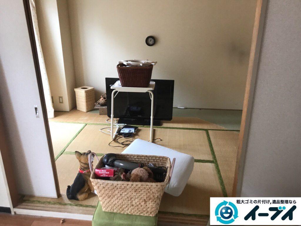 2017年5月21日大阪府大阪市住之江区で引越しに伴う生活用品や粗大ゴミの不用品回収をしました。写真2