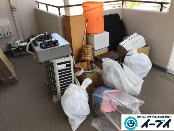2017年5月12日大阪府大阪市浪速区で引越し後のゴミや粗大ゴミの不用品回収をしました。写真2
