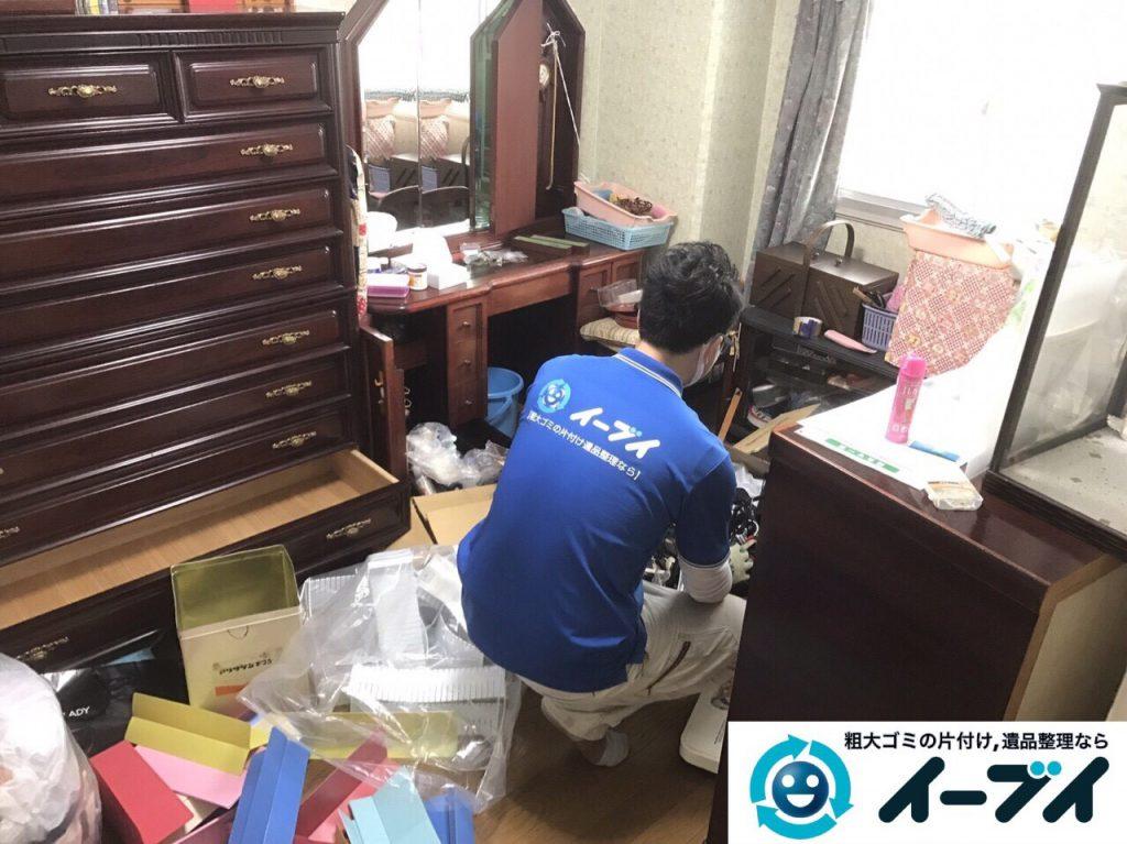 2017年5月25日大阪府大東市で遺品整理に伴い家具や日用品の処分を行いました。写真7