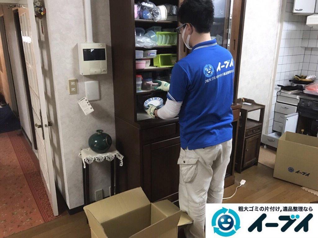 2017年5月27日大阪府大阪市生野区で遺品整理に伴い家具や日用品の処分をしました。写真8