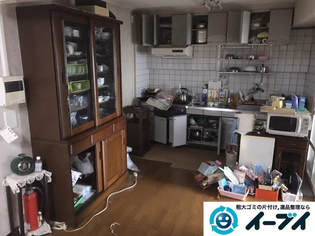 2017年5月27日大阪府大阪市生野区で遺品整理に伴い家具や日用品の処分をしました。写真6
