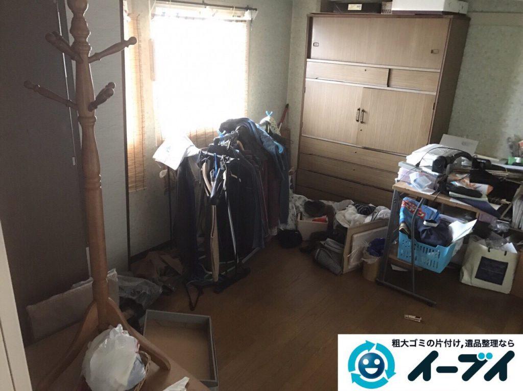 2017年5月25日大阪府大東市で遺品整理に伴い家具や日用品の処分を行いました。写真6