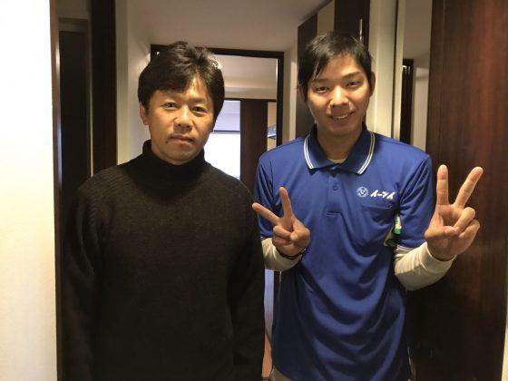 2017年5月11日大阪府大阪市西区で引っ越しにあたって家電の処分でイーブイを利用して頂きました。