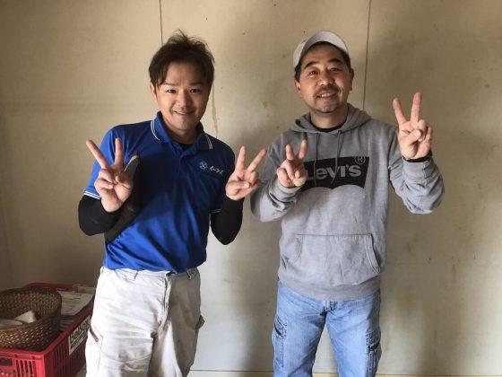2017年5月5日大阪府高槻市で庭のブロックや洗濯機と家具処分をさせていただきました。
