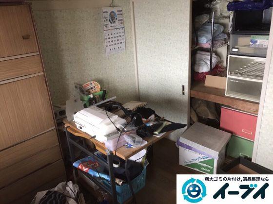 2017年6月2日大阪府大阪市西成区で遺品整理に伴う粗大ゴミや家具の処分をしました。写真5