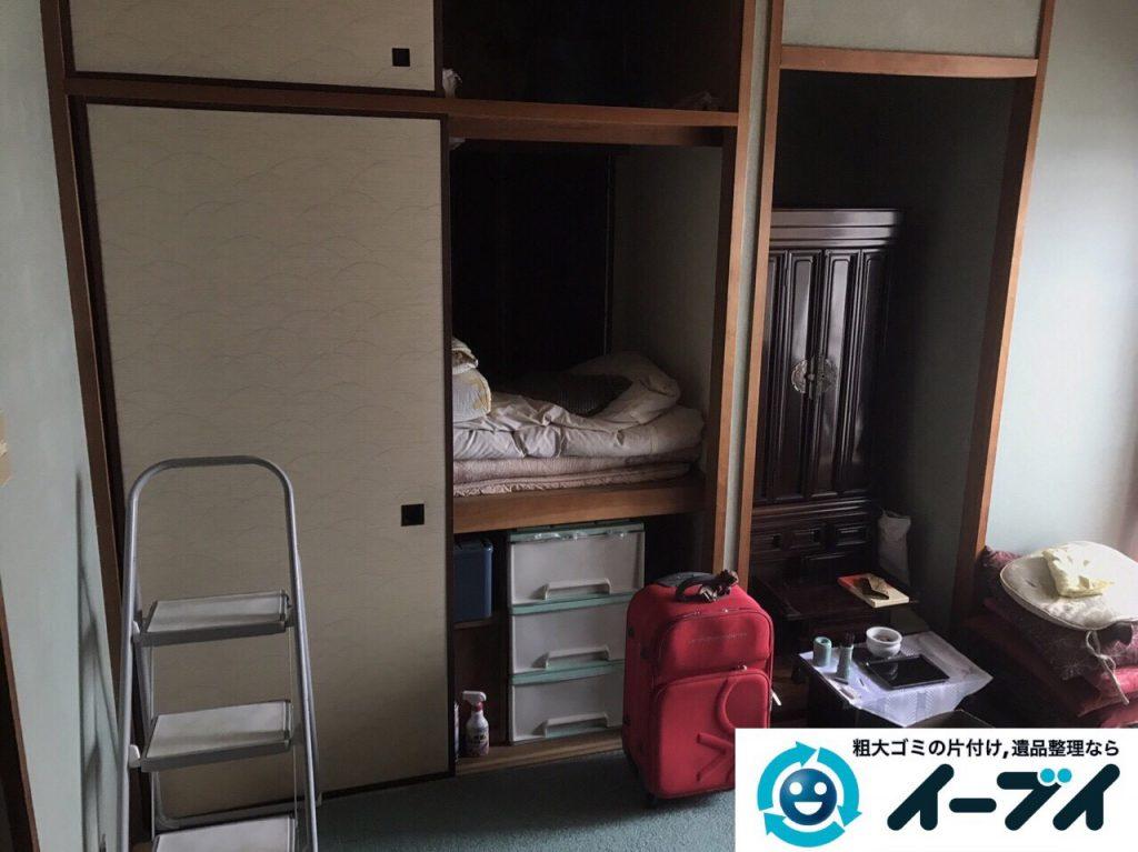 2017年6月2日大阪府大阪市西成区で遺品整理に伴う粗大ゴミや家具の処分をしました。写真3