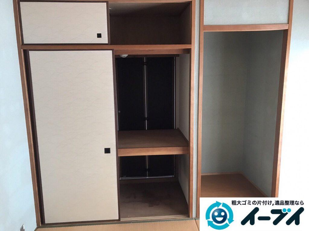 2017年6月2日大阪府大阪市西成区で遺品整理に伴う粗大ゴミや家具の処分をしました。写真2