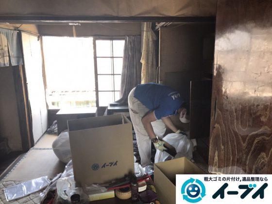 2017年6月12日大阪府能勢町で遺品整理に伴い家具や日用品の片付け処分をしました。写真11