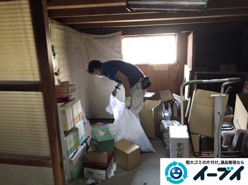 2017年6月12日大阪府能勢町で遺品整理に伴い家具や日用品の片付け処分をしました。写真10