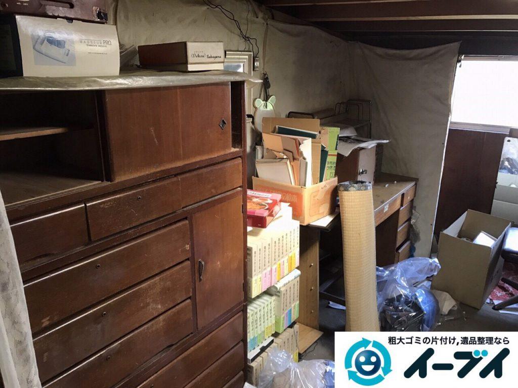 2017年6月12日大阪府能勢町で遺品整理に伴い家具や日用品の片付け処分をしました。写真7