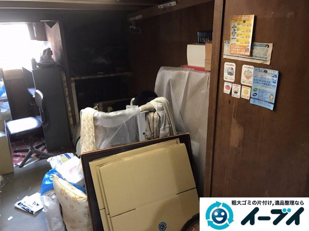 2017年6月12日大阪府能勢町で遺品整理に伴い家具や日用品の片付け処分をしました。写真5