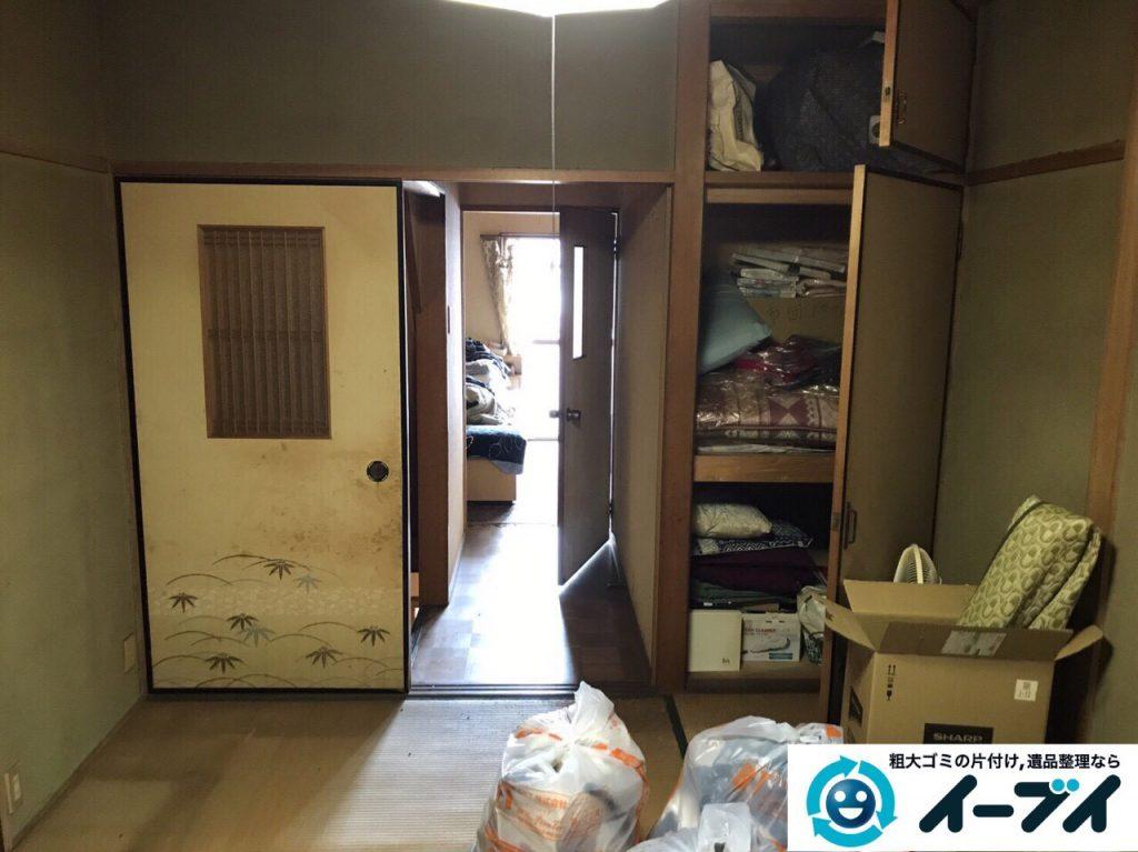 2017年6月8日大阪府八尾市で実家の残置物の処分のご依頼をいただき不用品回収を行いました。写真4
