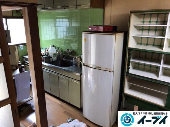 2017年6月6日大阪府大阪市平野区で遺品整理伴い家具処分や生活ゴミの片付けの依頼をいただきました。写真3